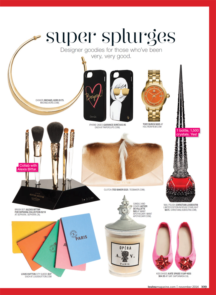 LOULOU - Gift Guide 2014 pg4