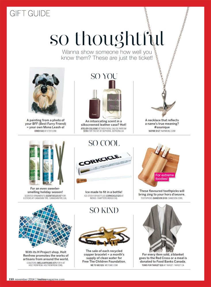 LOULOU - Gift Guide 2014 pg5