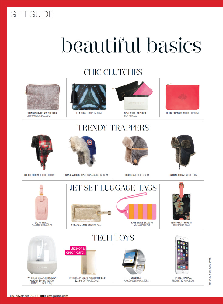 LOULOU - Gift Guide 2014 pg6