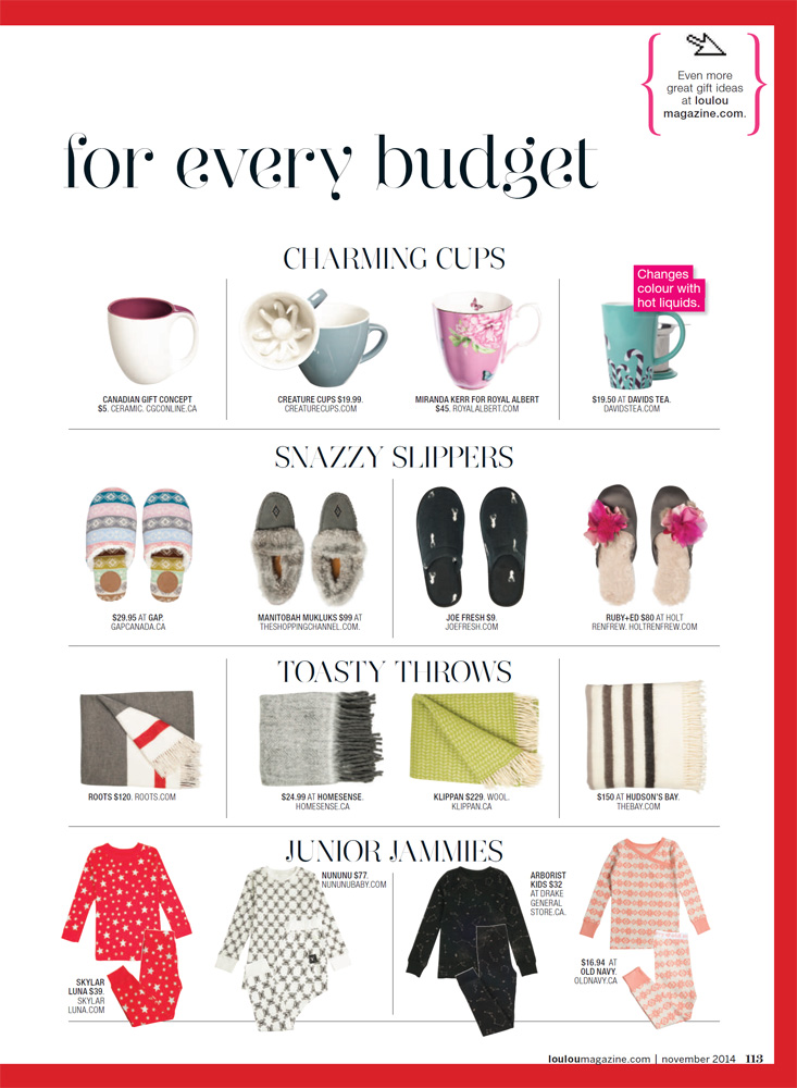 LOULOU - Gift Guide 2014 pg7