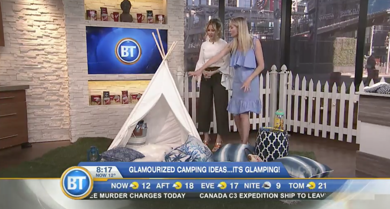 Glamping for Kids – BT Toronto