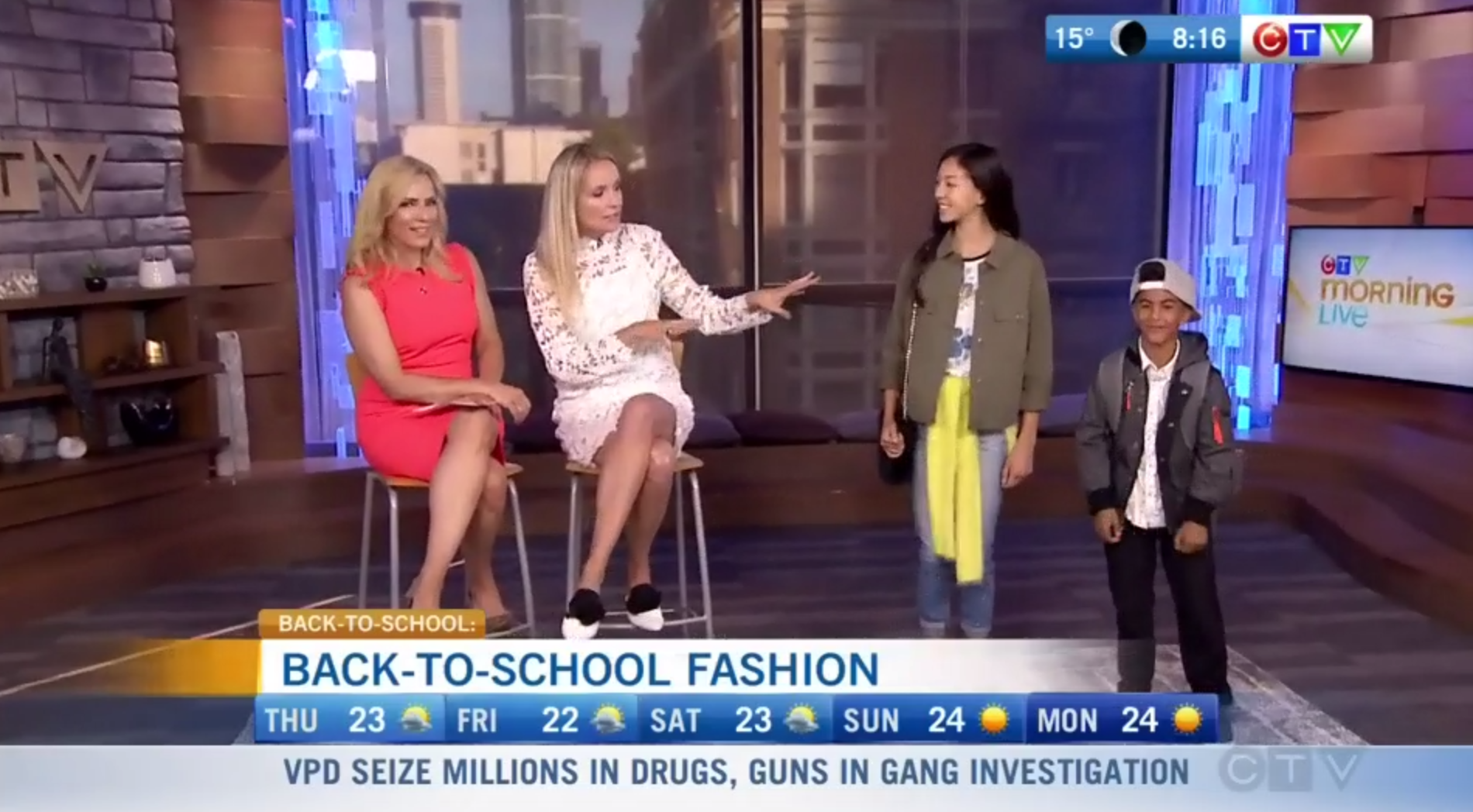 Back to School Fashion – CTV Morning Live Vancouver
