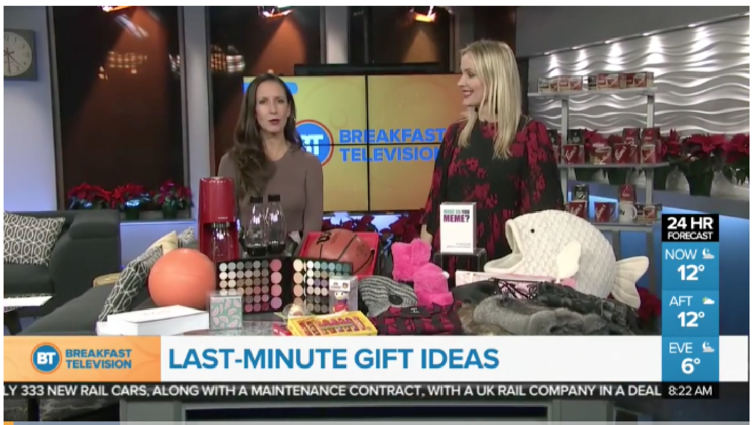 Last Minute Gift Ideas - Breakfast Television Calgary